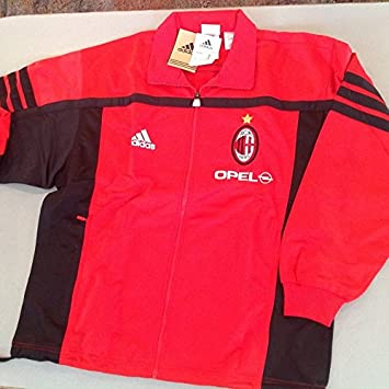 adidas Chándal ACMilan 2000/2001, Rojo/Negro: Amazon.es: Deportes ...