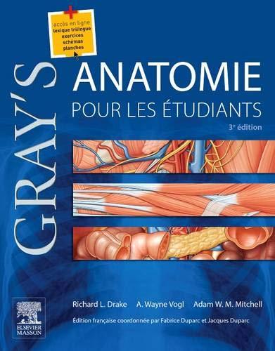 Gray's, Anatomie Pour Les Étudiants (French Edition)