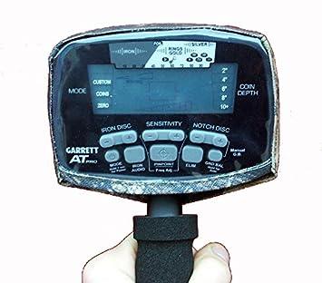 DetectorCovers Garrett AT Pro DE LA Tapa DE LA Caja DE Control del Detector DE Metales, EN 600 Camo Paño DE PVC: Amazon.es: Deportes y aire libre