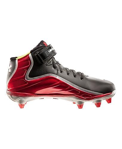 more photos 6bb75 c4d6f Amazon.com | Men's UA Fierce Havoc Mid D Football Cleats | Shoes