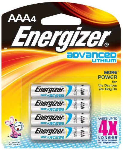 Advanced Lithium Aaa Batteries - Energizer Advanced Lithium Batteries AAA (Per 4)