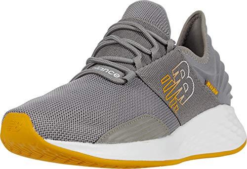 New Balance Men's Roav V1 Fresh Foam Walking Shoe, Marblehead/Varsity Gold, 12 D US