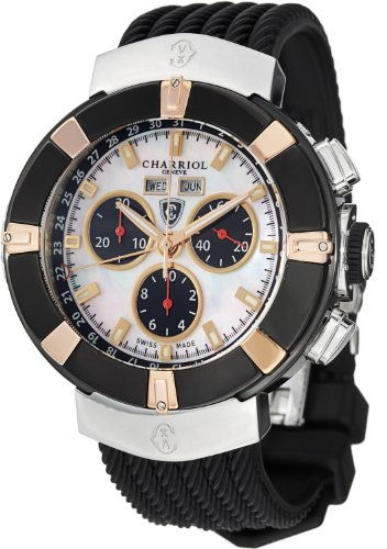 charriol-mens-celtica-c44p173003-round-watch-with-black-rubber-strap