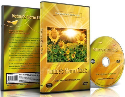 Nature's Alarm Clock DVD - Scenes Of Sunrise and Dawn Moods with Nature (Alarm Collection)