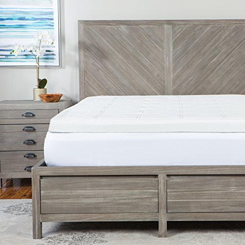 sensorpedic luxury extraordinaire 3 inch quilted memory foam mattress topper tw 96675621015 ebay. Black Bedroom Furniture Sets. Home Design Ideas