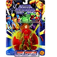 Fénix oscuro con cabello iluminado y ojos Marvel Universe Figure