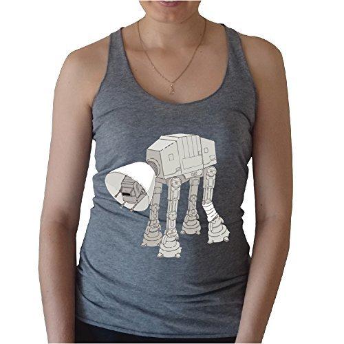 [My Star Wars AT-AT Pet Tank top (M, Grey)] (Cheap Star Wars Shirts)