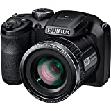 Fujifilm FinePix S4850 Black 16MP Digital Camera with 30x Optical Zoom and 3″ LCD
