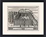 Framed Print Of Clare College 1690