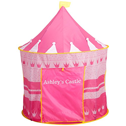 Miles Kimball Personalized Children's Tent (Pink) by Miles Kimball