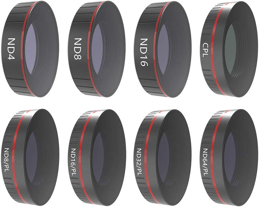 Xingsiyue Neutral Density Filter for DJI Osmo Action ND32 Protective Lens Multi-Layer Optical Glass Waterproof Dust-Proof Filter