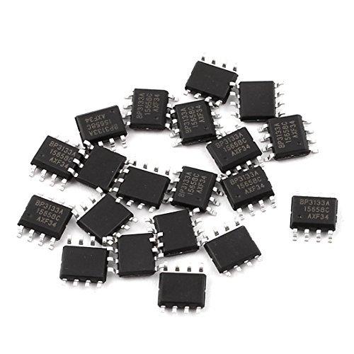 eDealMax BP3133A SOP-8 SMD SMT PCB Surface de Montage LED Pilote IC Chip 20Pcs