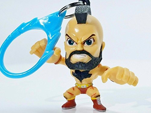 Street Fighter Collectible Mini Backpack Figure ~ Zangief (Opened to Identify)