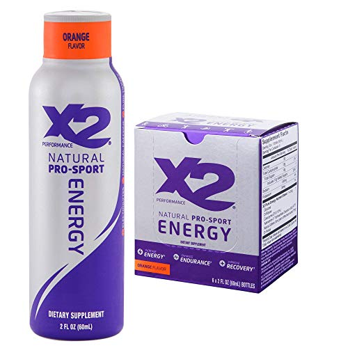 X2 Natural Pro Sport Energy Orange