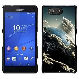 EJOY---Cubierta de la caja de protección para la piel dura ** Sony Xperia Z3 Compact ** --Espacio Planet Galaxy Estrellas 57