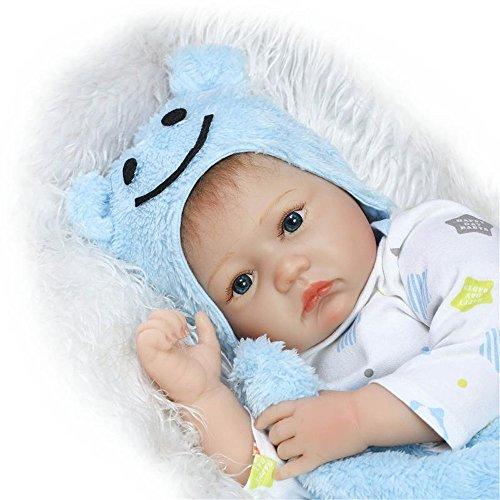Fan-Moon-Baby-Doll-Soft-Silicone-Eyes-Open-Boy-22-Inch