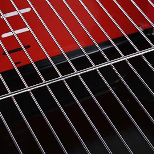 AYNEFY Grills Electrique d'Extérieur sans Fumée, Barbecue Electrique de Table Plancha BBQ de Table sur Pied Pliable Portable de Voyage Grill Electrique Réglable Professionnelle