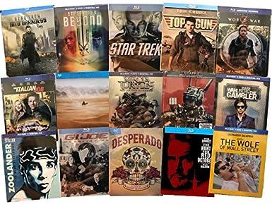 Amazon.com: Ultimate Blu-ray Steelbook 15-Movie Collection ...