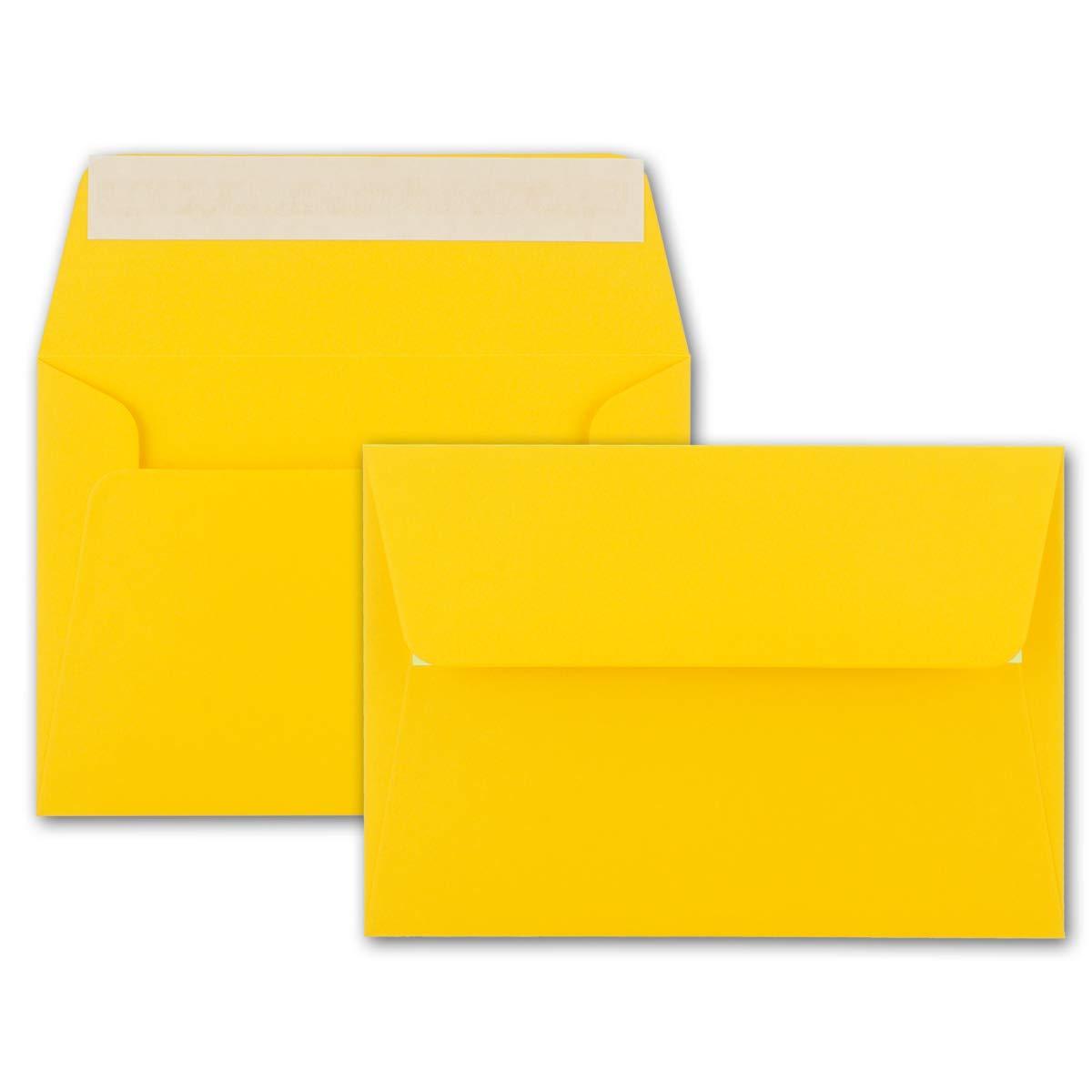 200x Brief-Umschläge B6 - Naturweiss - - - 12,5 x 17,5 cm - Haftklebung 120 g m² - breite edle Verschluss-Lasche - hochwertige Einladungs-Umschläge B06WW4PBGD | Elegant und feierlich  3fbed0