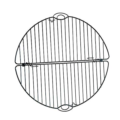 LoaferUp New/Durable Stainless Steel Multi-Purpose Wire Steaming Cooling and Baking Barbecue Rack,Pattern A (with legs)