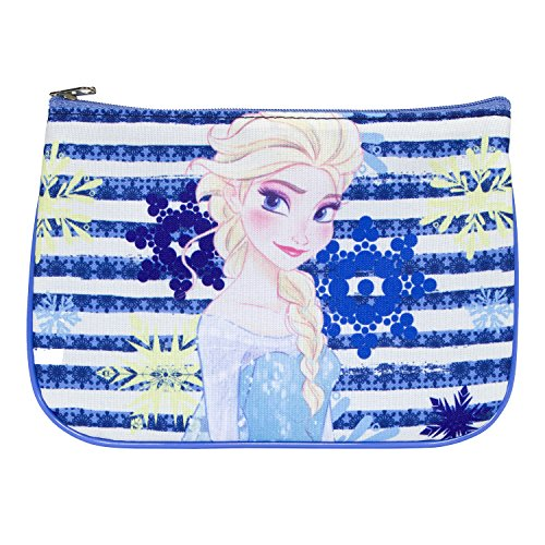 Elsa From Frozen Makeup - Everything Mary Frozen Cosmetic Pouch |