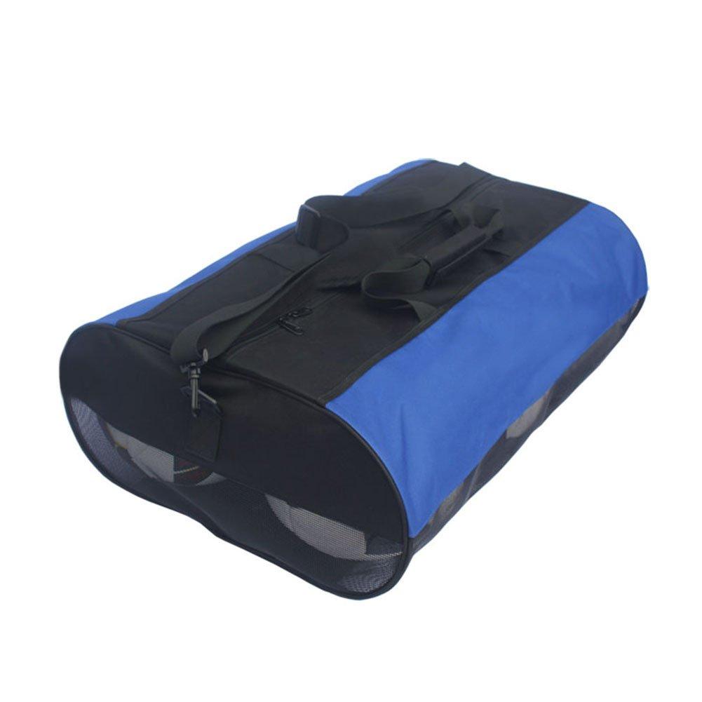 GOGO en maille filet visible /à motif Softball Sac fourre-tout Sacs de boule de 3/Boule//6/Boule Portable avec sangle d/épaule