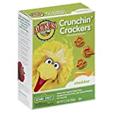 Earth's Best Crunchin' Crackers, Cheddar, 5.3 Ounce (Pack of 6)