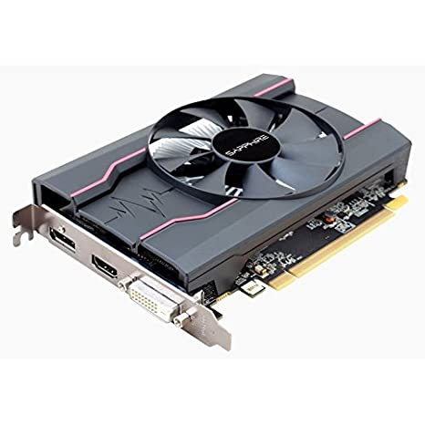 Image result for Sapphire Pulse Radeon RX 550 4GB GDDR5 HDMI / DVI-D / DP OC Graphics Card (11268-01-41G)