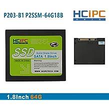 HCiPC P203-B1 P2SSM-64G18B 64G 1.8Inch SATA2 SSD,Solid State Drive,SSD MSATA,for Tablet,Mini Box PC,Industrial PC,ITX motherboard