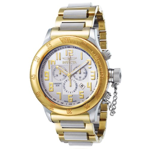 Invicta Men's 4159 Russian Diver Collection Offshore Chronograph Two-Tone Watch ()