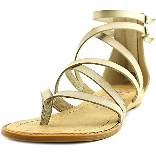 Blowfish Women's Bungalow Birch Dyecut PU Gladiator Sandal (7.5M)