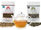 Physique Tea Ultimate Body Cleanse & Slimming Tea | Custom Blends to Reduce Bloating, Hunger and a Flat Tummy | Garcinia Cambogia & Turmeric Anti-Inflammatory & Laxative Free Teatox | Free Detox Diet