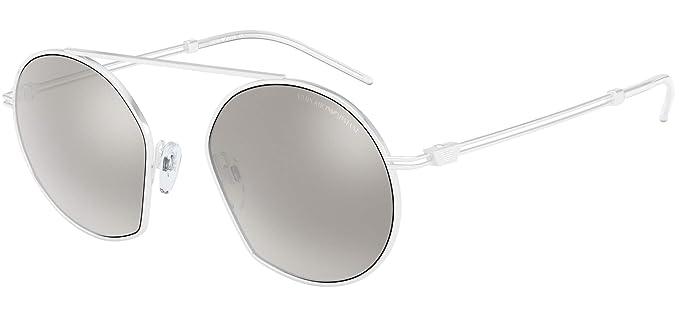 Emporio Armani 0EA2078 Gafas de sol, White, 50 para Hombre ...