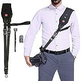 Camera Shoulder Neck Strap, Quick Rapid Shoulder Sling Belt Neck Strap Professional Single Shoulder Camera strap camcorder for DSLR SLR Canon Nikon Sony Panasonic