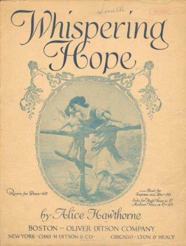 Whispering Hope (Sheet Music)