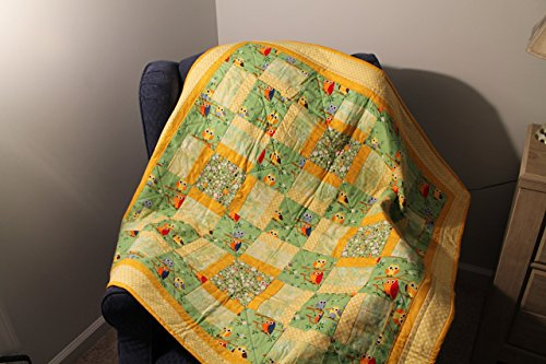 Baby Owl Quilt by Daisy Bs