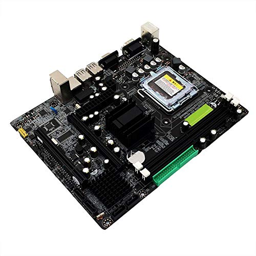 Feileng 945GC Desktop Computer Motherboard LGA-775 ddr2 Integrated Chip Graphics/Sound Card/Network Card 4G Memory DDR2