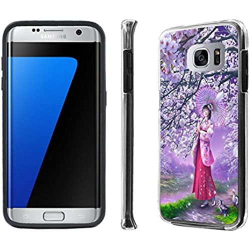 Galaxy S7 Edge / GS7 Edge Case, [NakedShield] [Black] DUO Shock Resistant Armor Case - [Onegai Twin] for Samsung Galaxy S7 Edge / GS7 Edge [5.5 Screen] Sales