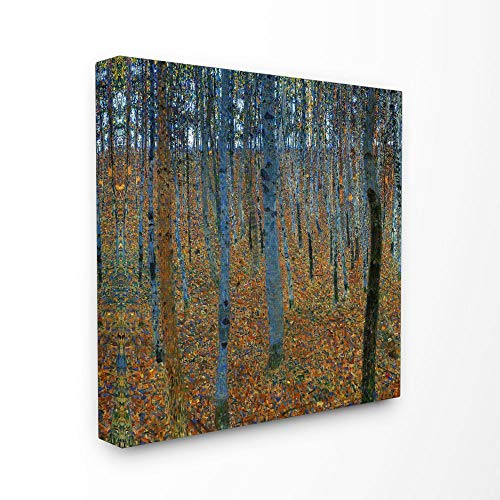 The Stupell Home Decor Collection Breech Tree Grove Impressionist Painting Stretched Canvas Wall Art, 30 x 30, Multi-Colored