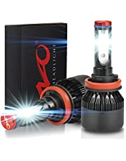 NAO H7 LED Headlight bulb all-in-one Car Led Headlamp Super Bright conversion kit cool white COB LED light bulbs with 2 PCS 72W 8000LM 6000K Car Led Headlamp Super Bright Fog light 2 year warranty