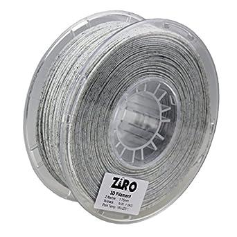 Ziro Filamento PLA para impresora 3D, 1,75 mm, color mármol/blanco ...