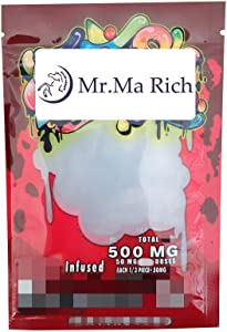 Mr.Ma Rich Mylar Bags Edible Packaging Resealable Smell Proof Mylar Bags smell Proof Smell Proof for Food Storage Smell Proof Resealable Bags No Labels/Empty bag 4x6in(50, Gdank Red)