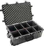 CVPKG Presents Black Pelican 1650 case, with TrekPak Divider System & 2 TSA Locks.
