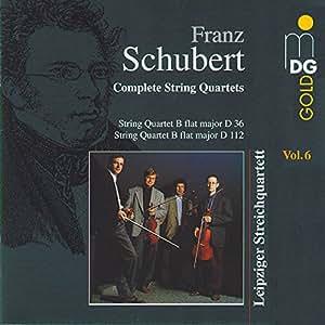 Schubert:  String Quartets in