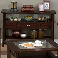 Jofran Montego Sofa Table - Montego Merlot