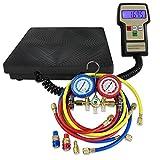 digital ac manifold gauge set - Super Deal AC Manifold Gauge Set R134a/R22 / Digital Electronic Refrigerant Charging Scale(#4)