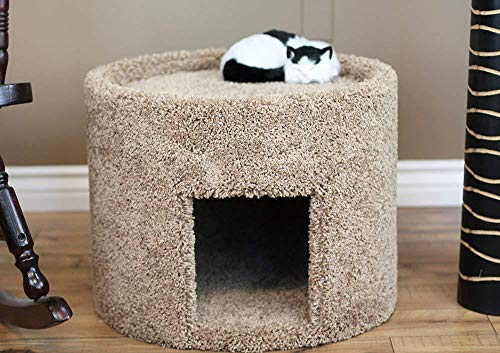 (New Cat Condos X-Large Carpeted Cat Bed and House,)