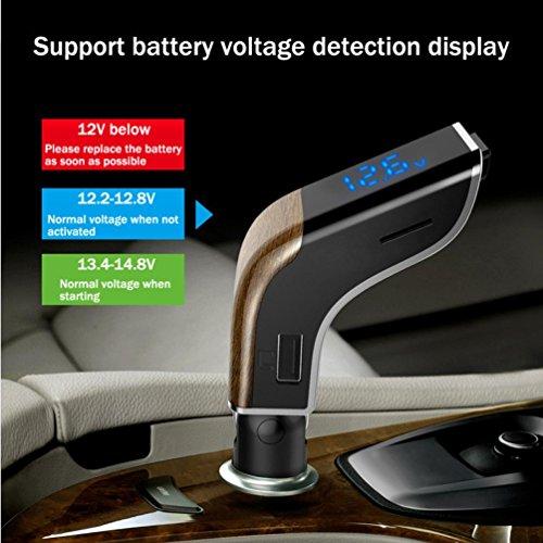 HKFV V2 Auto MP3 Auto FM Transmitter Auto Sender Bluetooth-Kits für ...