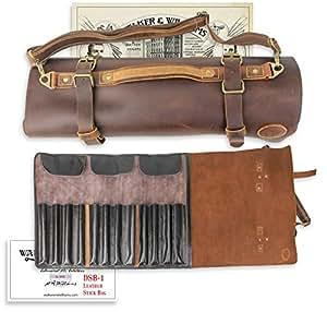 Amazon.com  Walker   Williams DSB-1 Thick Full Grain Cowhide Leather ... 85db7efc9022f