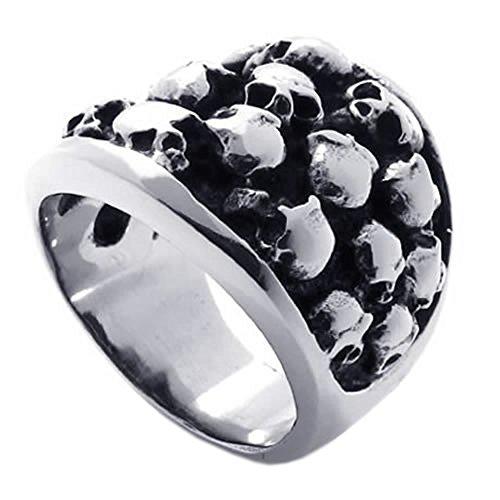 KONOV Gothic Stainless Steel Skull